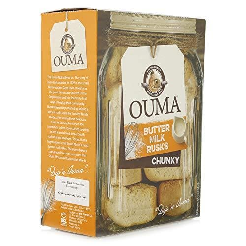 OUMA Chunky Buttermilk Rusks (1Kg) from South Africa - AubergineFoods.com