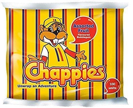 Chappies Assorted Fruit (100 Pcs) from South Africa - AubergineFoods.com