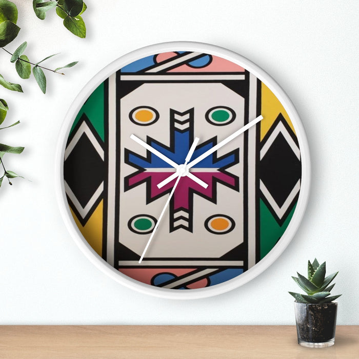 Abstract Afrikaans Wall clock