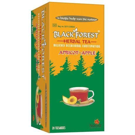 BF Herbal Apricot Apple Tea (20) from South Africa - AubergineFoods.com