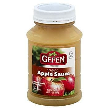 GEFEN Apple Sauce (680 g) from Kosher - AubergineFoods.com