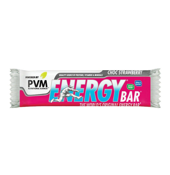 PVM Energy-Choc Strawberry (45 g) from South Africa - AubergineFoods.com