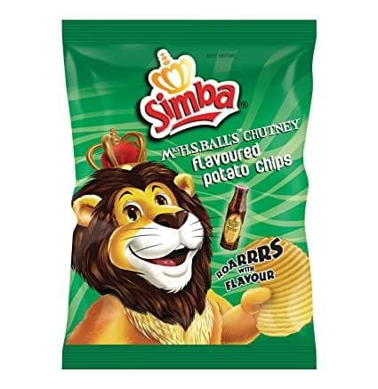 SIMBA Chips: Mrs. H.S. Ball's Chutney (125 g) from South Africa - AubergineFoods.com