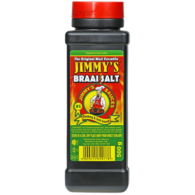 Jimmy's Braai Salt (500 g) from South Africa - AubergineFoods.com