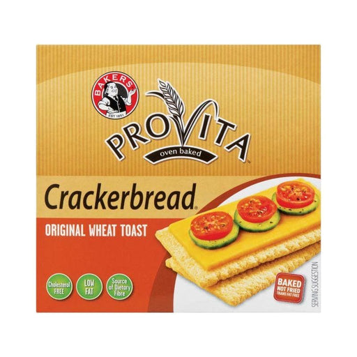 Provita Crackerbread Original (125 g) from South Africa - AubergineFoods.com