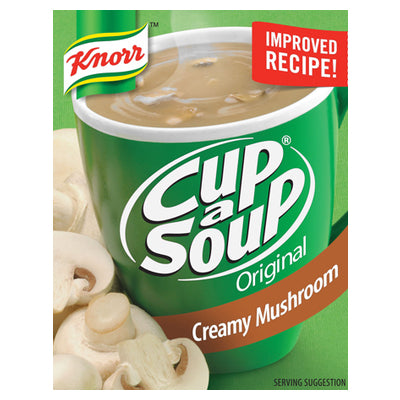 Knorr Cup A Soup Creamy Mushroom