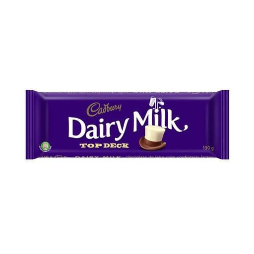 Dairy Milk Top Deck (150 g) from South Africa - AubergineFoods.com