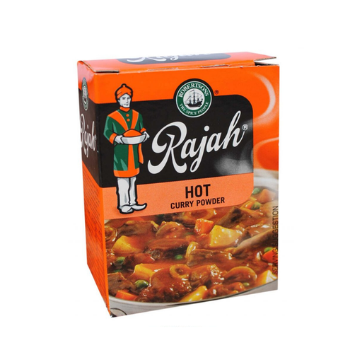 Robertson's Rajah Curry Powder: Hot (100 g) from South Africa - AubergineFoods.com