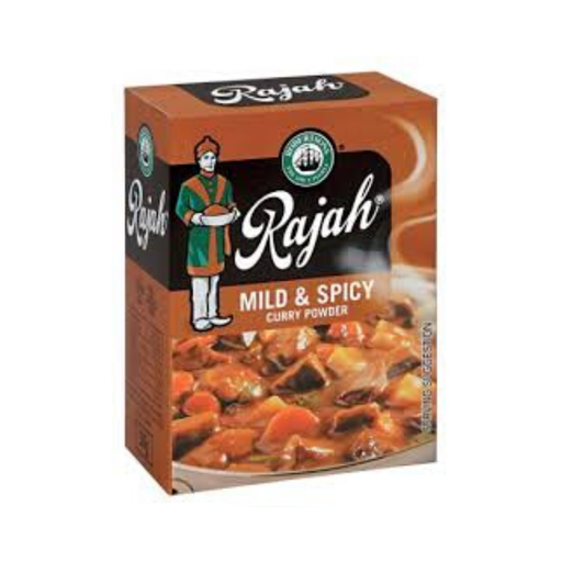 Robertson's Rajah Curry Powder: Mild & Spicy (100 g) from South Africa - AubergineFoods.com