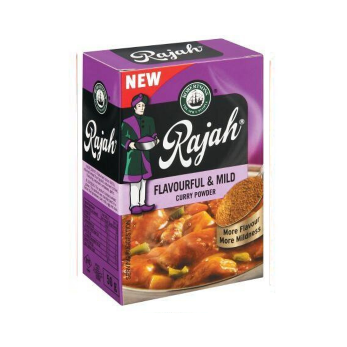 Robertson's Rajah Curry Powder: Flavorful & Mild (100 g) from South Africa - AubergineFoods.com