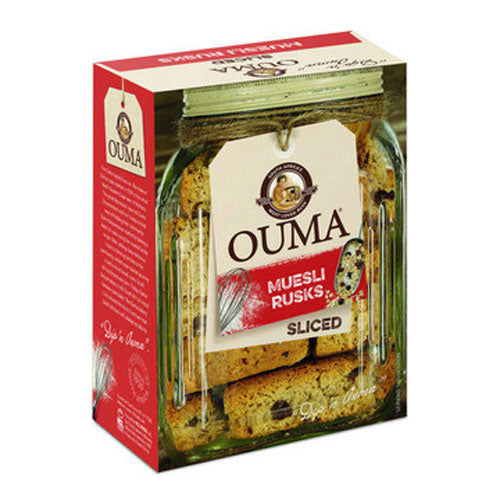 OUMA Muesli Rusks-Sliced (500g)