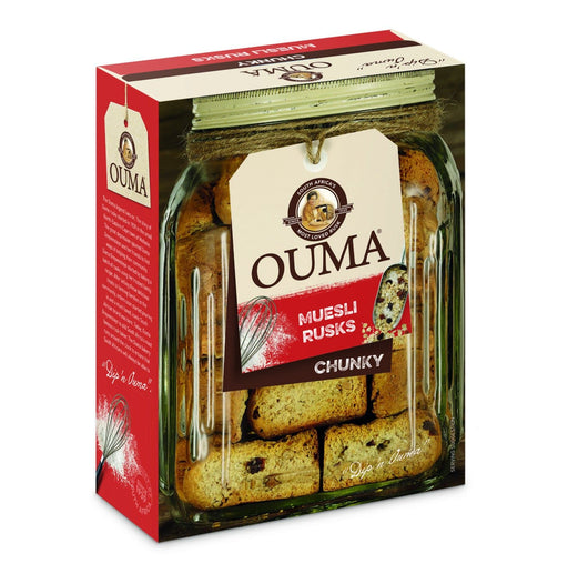 OUMA Muesli Rusks (1Kg) from South Africa - AubergineFoods.com