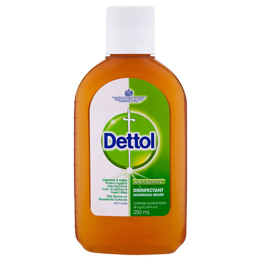 Dettol Antiseptic Liquid (250 ml) from South Africa - AubergineFoods.com