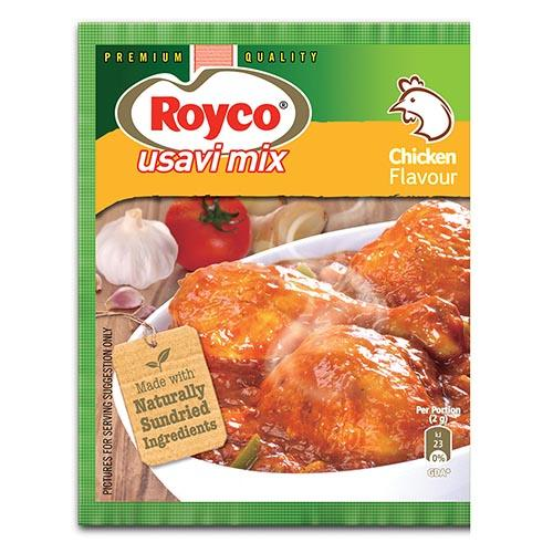 ROYCO Chicken Usavi Mix (75 g) from South Africa - AubergineFoods.com