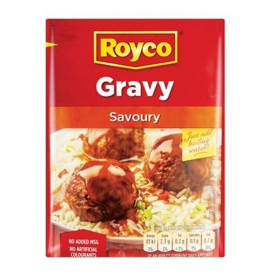 ROYCO Savoury Gravy (32 g) from South Africa - AubergineFoods.com
