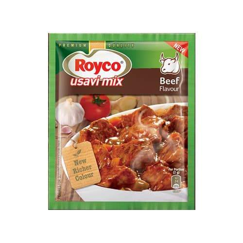 ROYCO Beef Usavi Mix (75 g) from South Africa - AubergineFoods.com
