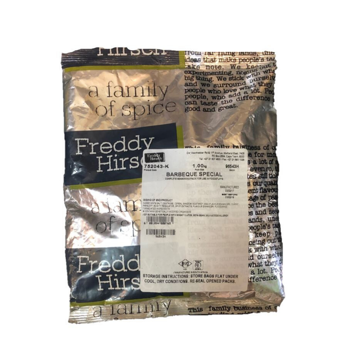 Freddy Hirsch BBQ Special Seasoning (1 Kg) from South Africa - AubergineFoods.com