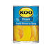 KOO Peach Slices in Syrup (410 g) from South Africa - AubergineFoods.com