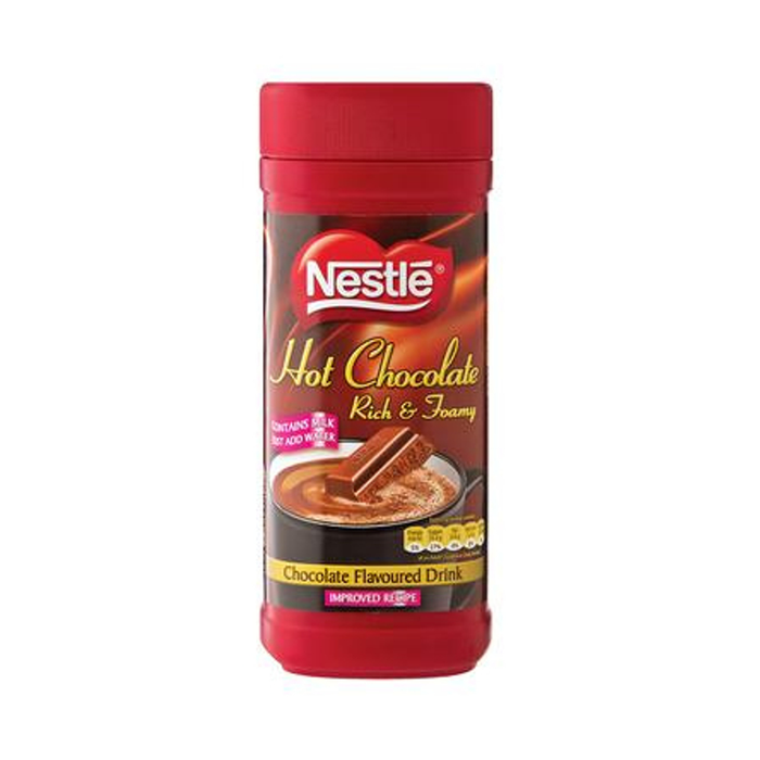 Nestle Hot Chocolate Rich and Foamy (500 g) from South Africa - AubergineFoods.com