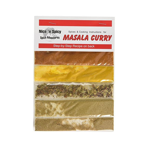 Nice n' Spicy Masala Curry (20 g) from South Africa - AubergineFoods.com