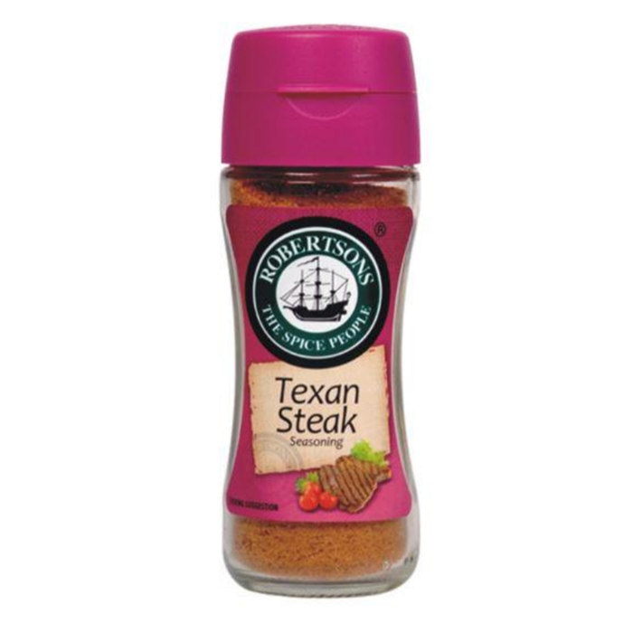 Robertson's Spice Texan Steak (100ml) from South Africa - AubergineFoods.com