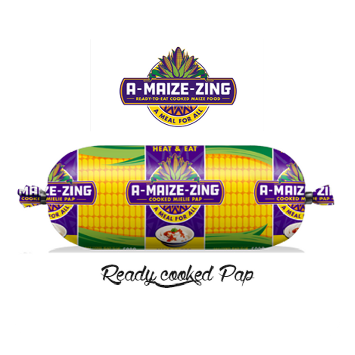 A-Maize-Zing (500 g) from South Africa - AubergineFoods.com