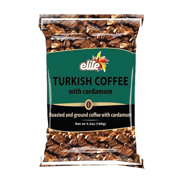 Elite Turkish Coffee with Cardamom (100 g)