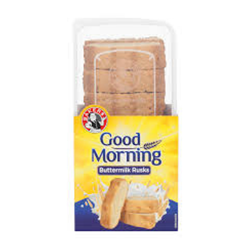 Bakers Good Morning Rusks-Buttermilk (450 g) from South Africa - AubergineFoods.com