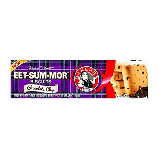 Bakers Eet-Sum-Mor Biscuits-Chocolate Chip (200 g) from South Africa - AubergineFoods.com