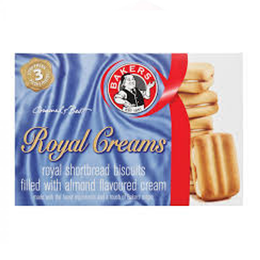 Bakers Royal Creams-Shortbread Biscuits (280 g) from South Africa - AubergineFoods.com