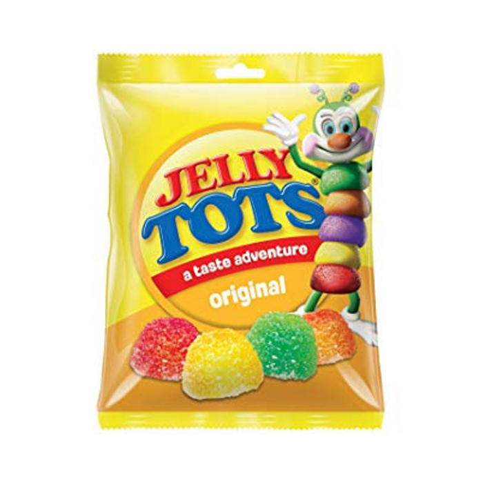 Jelly Tots-Original (100 g) from South Africa - AubergineFoods.com