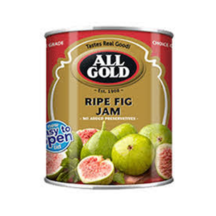 ALL GOLD Ripe Fig Jam (450 g) from South Africa - AubergineFoods.com