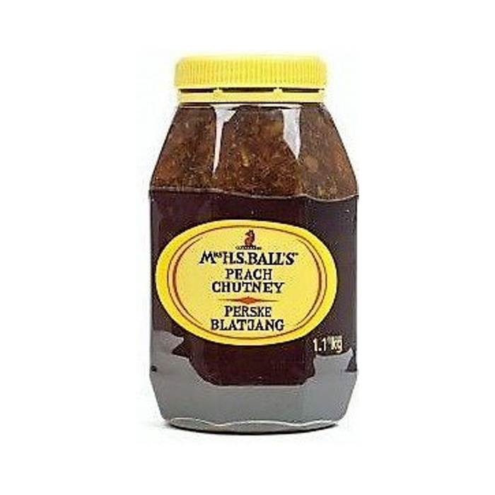Ms. H Ball's Peach Chutney (1.1 Kg) from South Africa - AubergineFoods.com