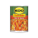 KOO Chakalaka-Hot and Spicy (410 g) from South Africa - AubergineFoods.com