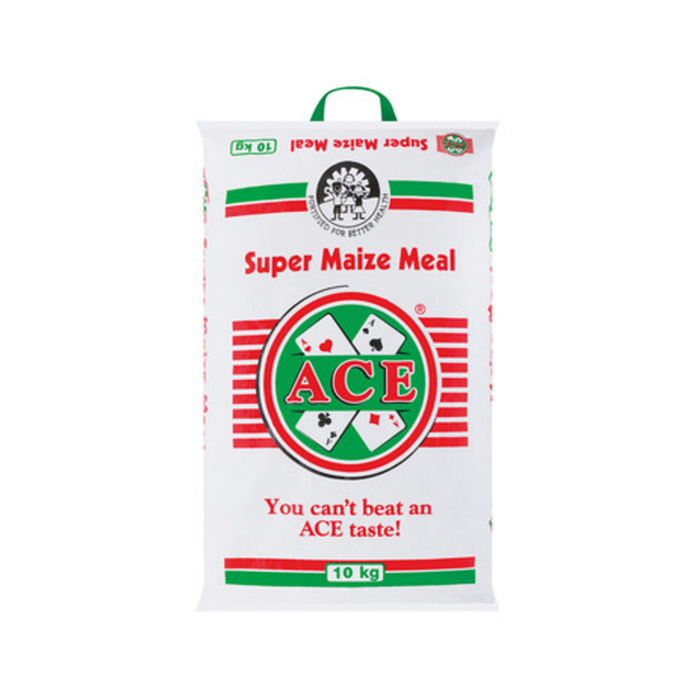 ACE Maize Meal (10 Kg) from South Africa - AubergineFoods.com