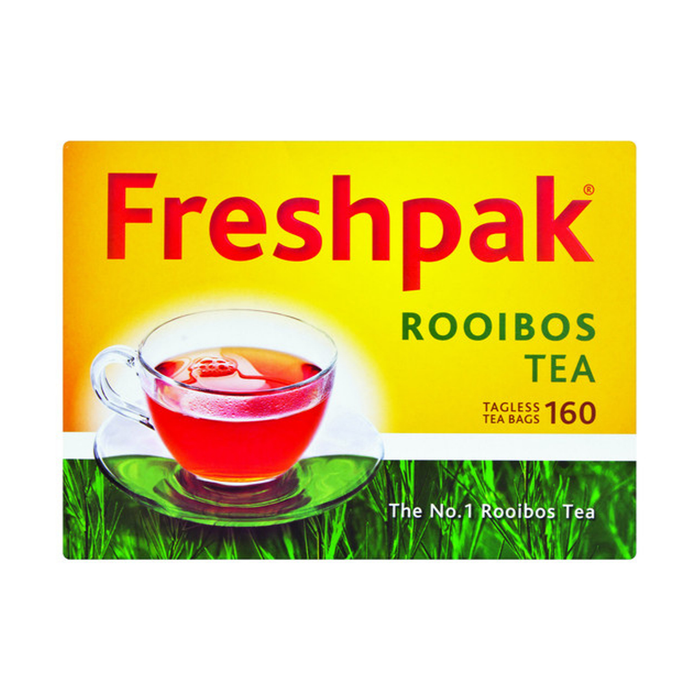 Freshpak Rooibos Teas (160) from South Africa - AubergineFoods.com