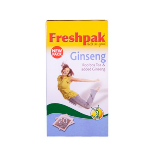Freshpak Rooibos with Ginseng (20's) from South Africa - AubergineFoods.com