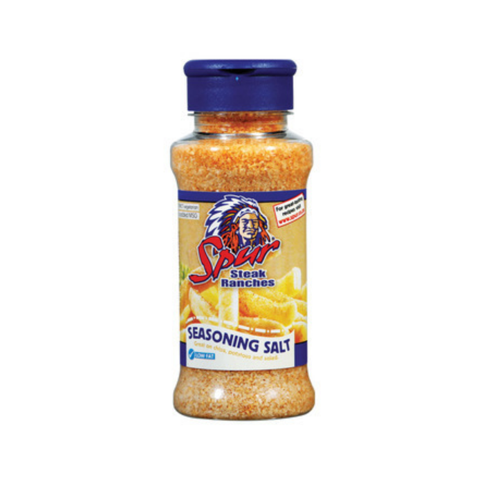 Spur Steak Ranches Seasoning Salt (200 ml) from South Africa - AubergineFoods.com