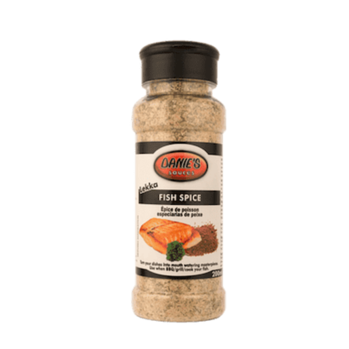 Danie's Fish Spice (200 ml) from South Africa - AubergineFoods.com