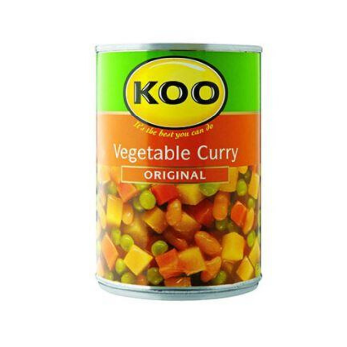 KOO Vegetable Curry (410 g) from South Africa - AubergineFoods.com
