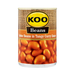KOO Butter Beans in Tangy Curry  (410 g) from South Africa - AubergineFoods.com