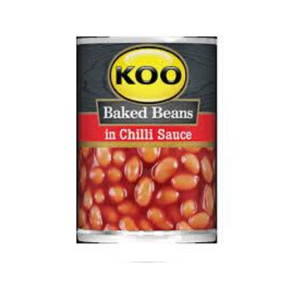 Koo Baked Beans in Chilli  (420 g)