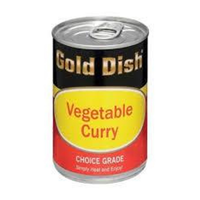 Gold Dish Vegetable Curry (415g)