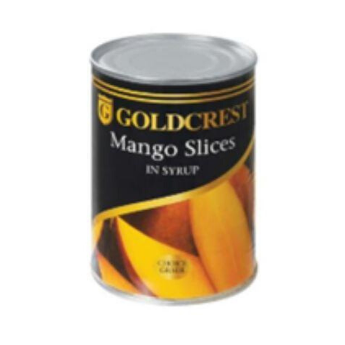 Goldcrest Mango Slices in Syrup (410g) from South Africa - AubergineFoods.com