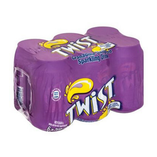 TWIST Grandilla Flavor (6 x 300 ml) from South Africa - AubergineFoods.com