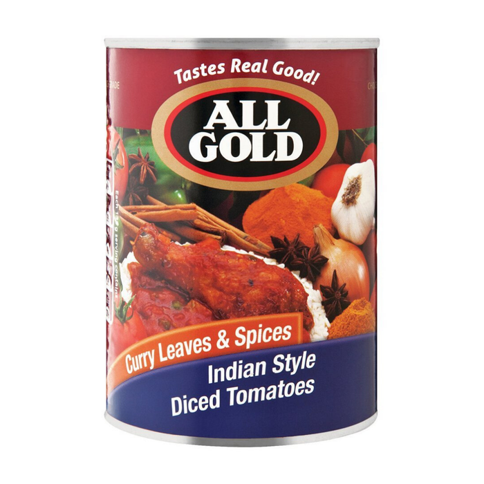 All Gold Indian Style Curry Leaves & Spices (410 g) from South Africa - AubergineFoods.com