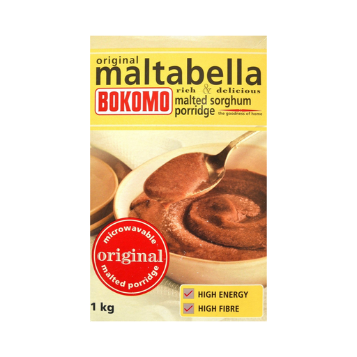 Bokomo Original Maltabella (1kg) from South Africa - AubergineFoods.com