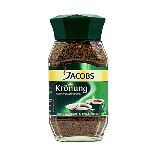 Jacobs Kronung Instant Coffee (200 g) from South Africa - AubergineFoods.com