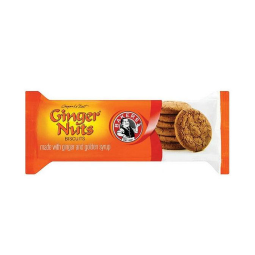 Bakers Ginger Nuts (200 g) from South Africa - AubergineFoods.com