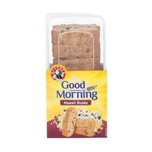 Bakers Good Morning Muesli Rusks (450 g) from South Africa - AubergineFoods.com
